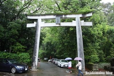 宮崎県護国神社(宮崎市神宮)1
