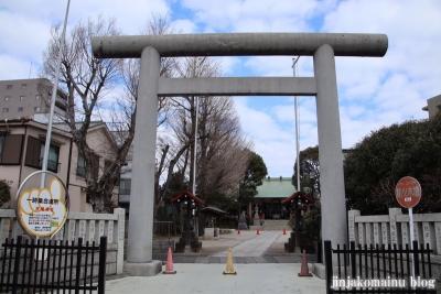 新小岩天祖神社(葛飾区東新小岩)2