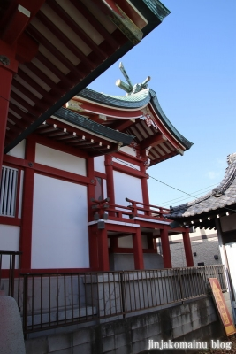 八劔神社(葛飾区奥戸)13
