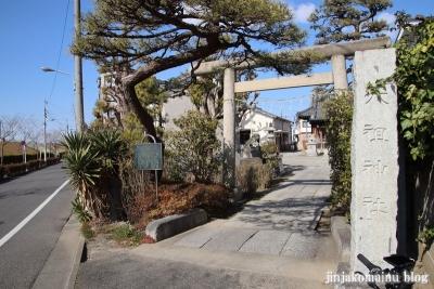 上一色天祖神社(江戸川区西小岩)1
