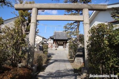 上一色天祖神社(江戸川区西小岩)4
