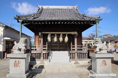 上一色天祖神社(江戸川区西小岩)6