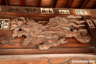 上一色天祖神社(江戸川区西小岩)9