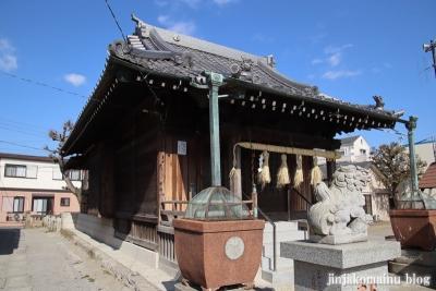 上一色天祖神社(江戸川区西小岩)11