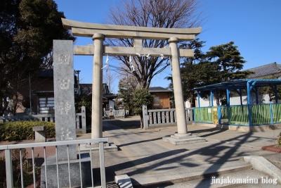 細田神社(葛飾区細田)1