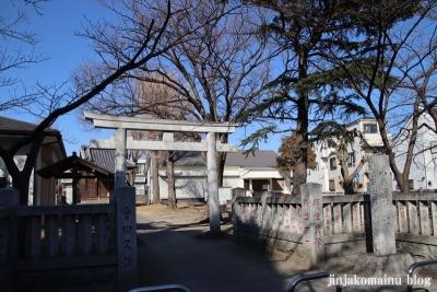 鎌倉八幡神社(葛飾区鎌倉)1