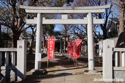 八幡稲荷神社(葛飾区鎌倉)1