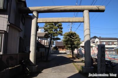 高砂天祖神社(葛飾区高砂)1