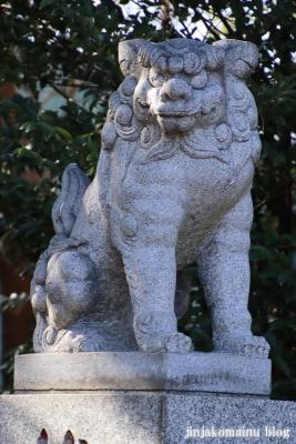 柴又八幡神社(葛飾区柴又)13