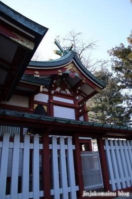 柴又八幡神社(葛飾区柴又)16