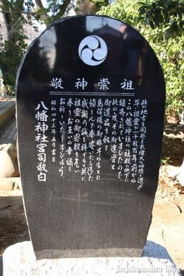 柴又八幡神社(葛飾区柴又)18