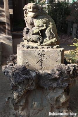 柴又八幡神社(葛飾区柴又)22