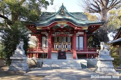 柴又八幡神社(葛飾区柴又)11