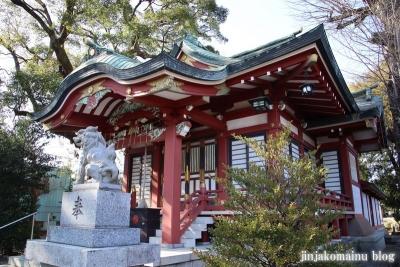柴又八幡神社(葛飾区柴又)15