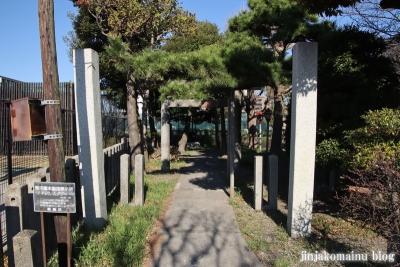 花之木稲荷神社(葛飾区新宿1