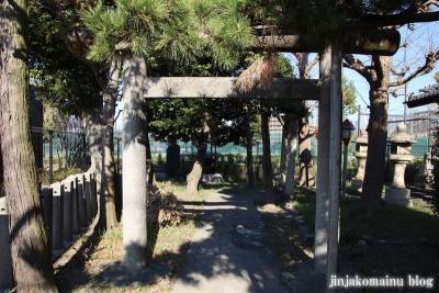 花之木稲荷神社(葛飾区新宿3