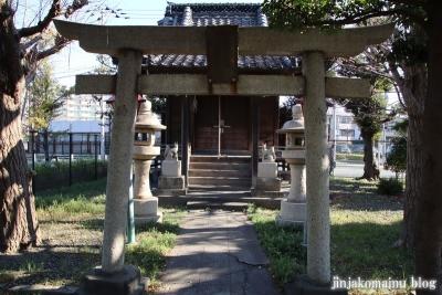 花之木稲荷神社(葛飾区新宿6