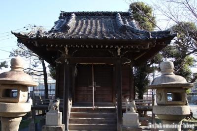花之木稲荷神社(葛飾区新宿8