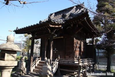 花之木稲荷神社(葛飾区新宿9