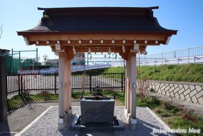 飯塚富士神社(葛飾区南水元)6