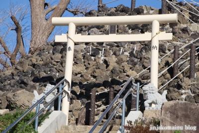 飯塚富士神社(葛飾区南水元)18