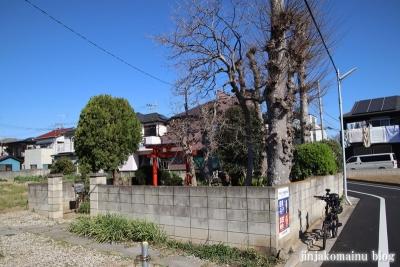 大畑稲荷神社(葛飾区西水元)1