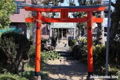 大畑稲荷神社(葛飾区西水元)2