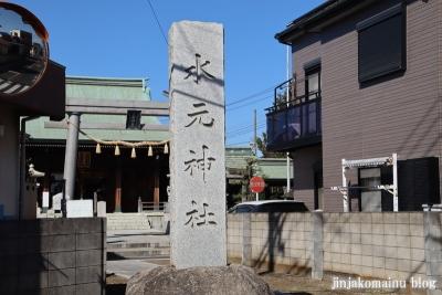 水元神社(葛飾区西水元)1
