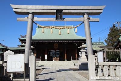 水元神社(葛飾区西水元)3