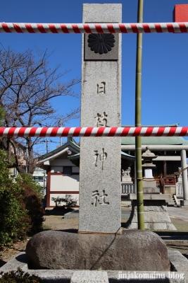 日枝神社(葛飾区東水元)2
