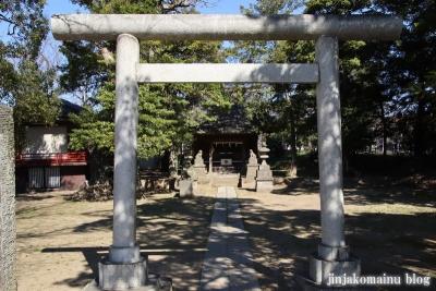 熊野神社(葛飾区東水元)3