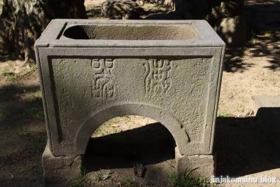 熊野神社(葛飾区東水元)5