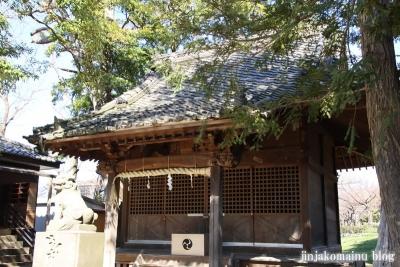 熊野神社(葛飾区東水元)8
