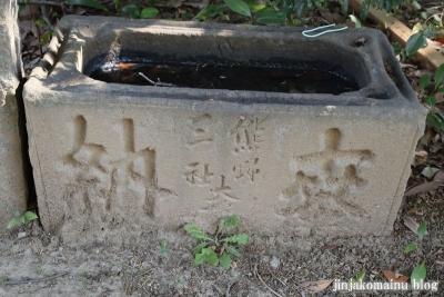 熊野神社(葛飾区東水元)9