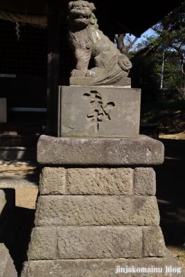 熊野神社(葛飾区東水元)13