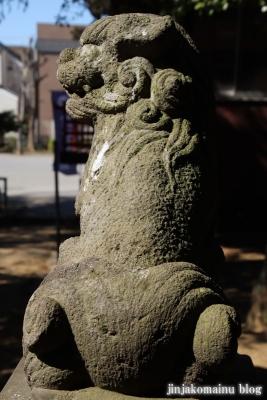 熊野神社(葛飾区東水元)16