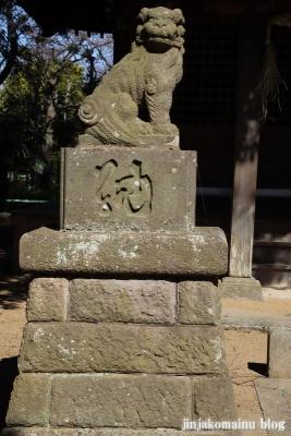 熊野神社(葛飾区東水元)17