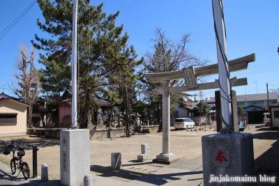 古新田稲荷神社(八潮市古新田)1