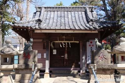 古新田稲荷神社(八潮市古新田)5