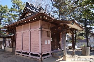 古新田稲荷神社(八潮市古新田)9