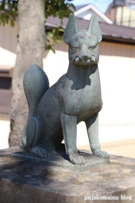 古新田稲荷神社(八潮市古新田)8