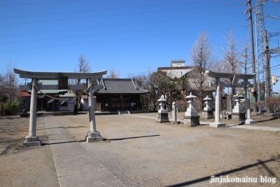 大瀬氷川神社(八潮市大瀬)1