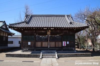 大瀬氷川神社(八潮市大瀬)6
