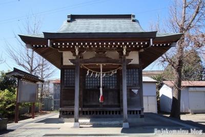 大瀬氷川神社(八潮市大瀬)12