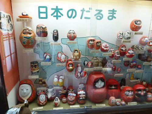 少林山達磨寺達磨堂『日本のだるま』