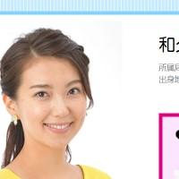 和久田 麻由子 ニュース ウォッチ 9