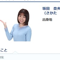 坂田奈央アナ