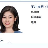 平井友莉アナ
