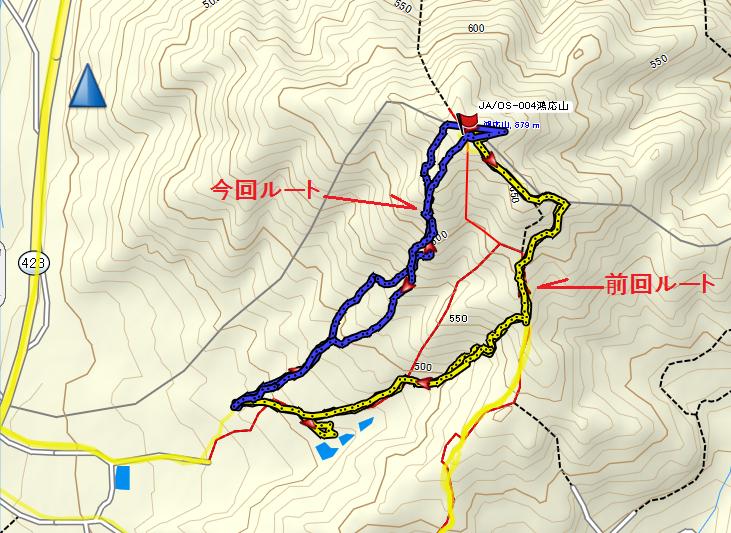 2019鴻応山/地図