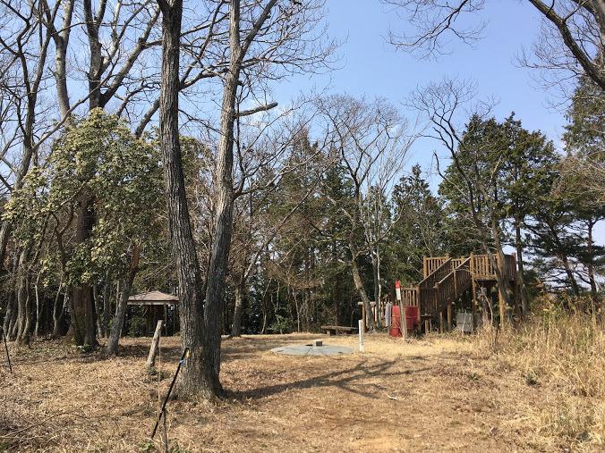 2019歌垣山/山頂の様子